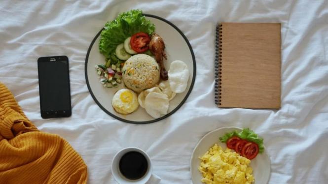 Kuliner dan Kenyamanan adalah Prioritas Staycation © instagram.com/thisiswulanjarii
