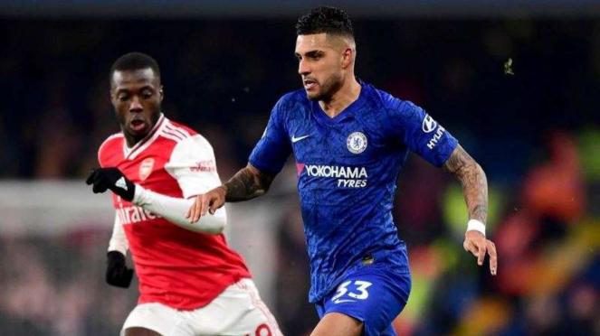 Laga Premier League 2019/2020 antara Chelsea kontra Arsenal