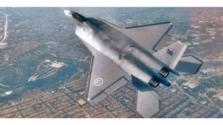 Jet tempur siluman Turki, TF-X.