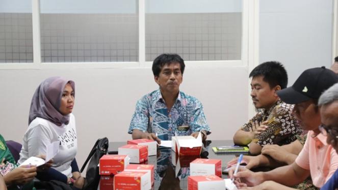 Rapat manajemen Persebaya dengan Pemkot Surabaya
