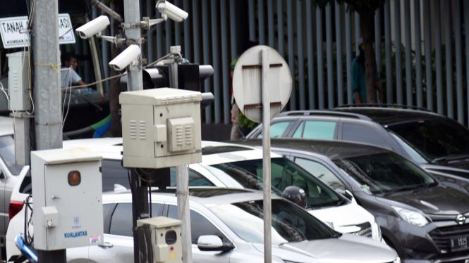 Kamera E-TLE di Jakarta