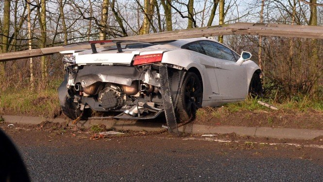 Lamborghini milik Sergio Romero.