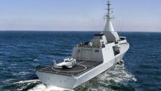 Kapal Korvet Gowind 2500 buatan Prancis.