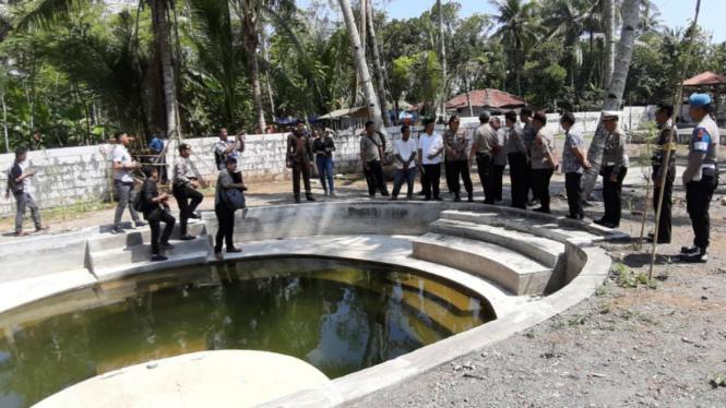 Sendang Kamulyan, tempat ritual keraton agung sejagat