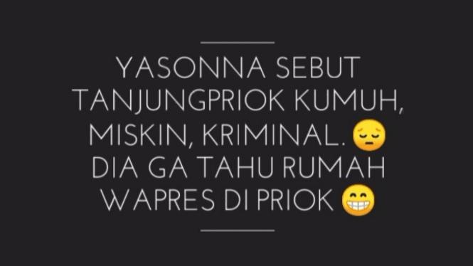 Meme Menteri Yosanna Laoly