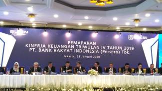 Pemaparan kinerja keuangan tahun 2019 PT Bank Rakyat Indonesia