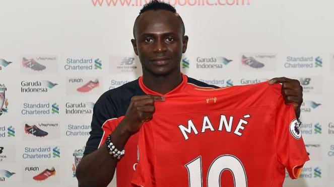 Sadio Mane saat baru diboyong Liverpool dari Southampton