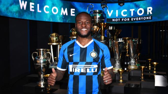 Gelandang anyar Inter Milan, Victor Moses