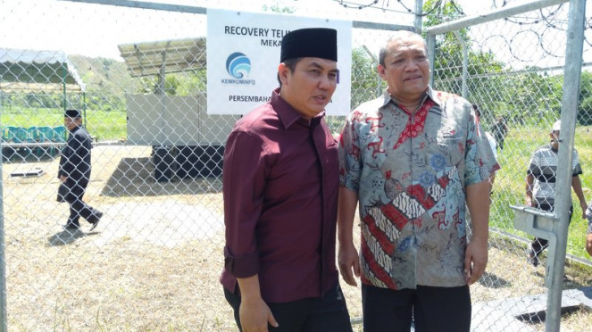Komisi I DPR tinjau BTS di Lombok Tengah