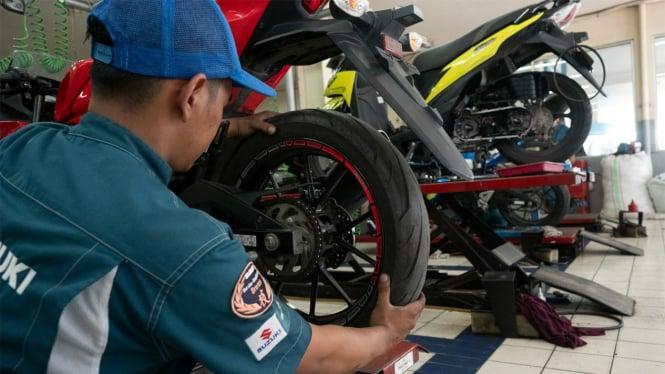 Servis motor Suzuki