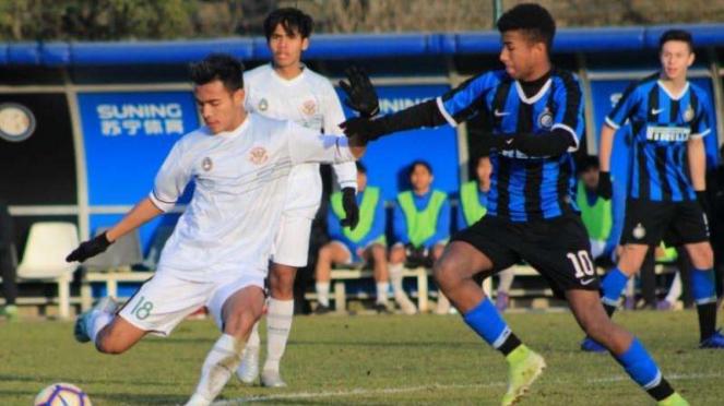 Laga Garuda Select kontra Inter Milan U-17