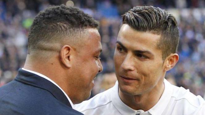 Ronaldo Luis Nazario de Lima dan Cristiano Ronaldo
