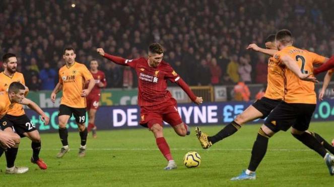 Penyerang Liverpool, Roberto Firmino