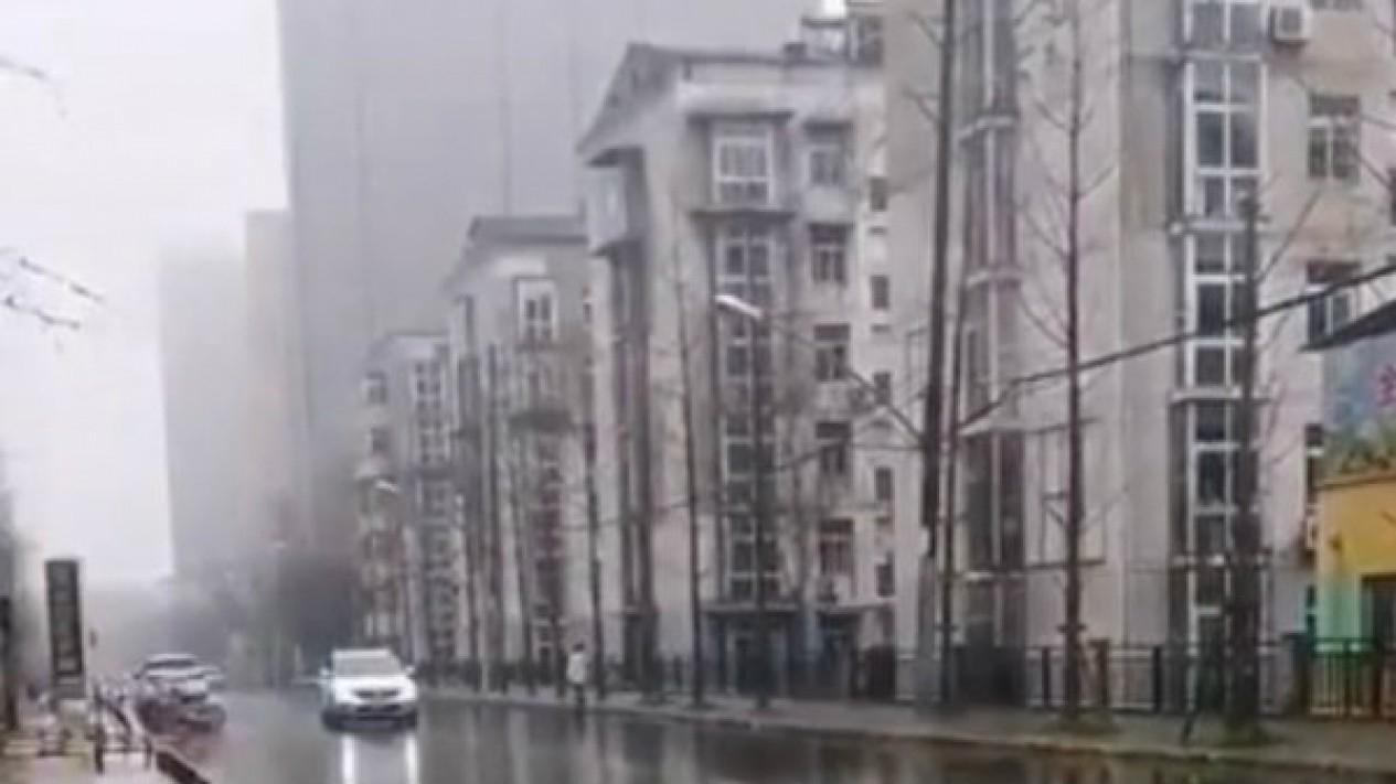 Penampakan Kota Wuhan