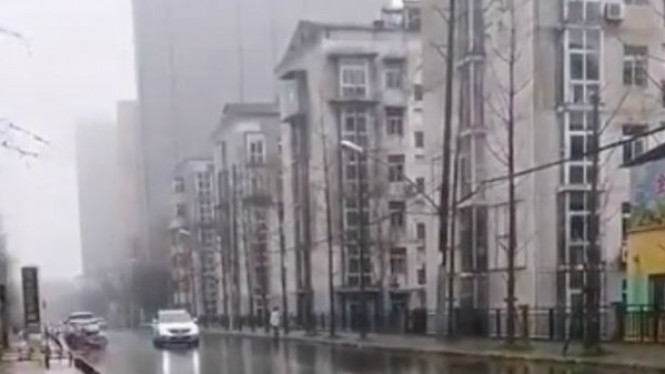 Tak Ada yang Keluar Rumah, Penampakan Wuhan Seperti Kota Mati