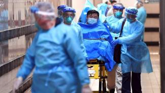 Pria berusia 50 tahun telah diisolasi di sebuah rumah sakit di Melbourne setelah dikonfirmasi terjangkit virus corona.