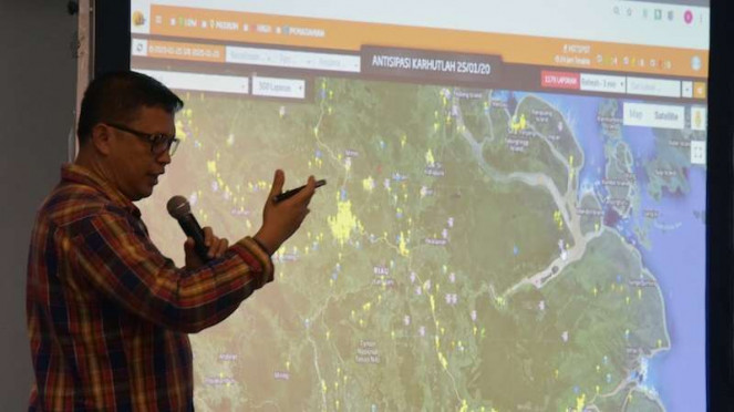 Kapolda Riau Irjen Pol Agung Setya Imam Efendi ungkap aplikasi Lancang Kuning