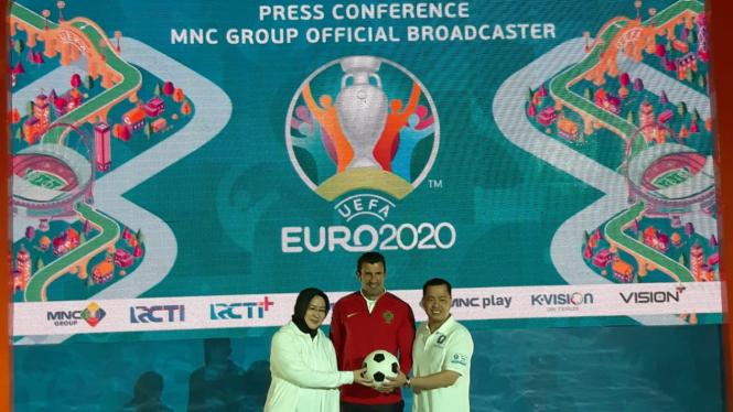 Peresmian MNC Group sebagai pemilik hak siar Piala Eropa 2020.