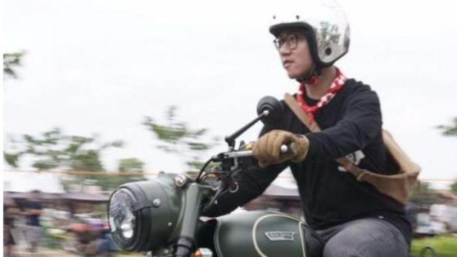 Gibran Rakabuming Raka anak Presiden Jokowi.