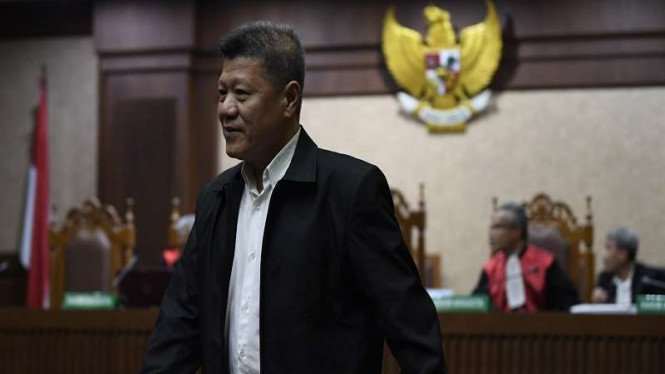 Pengusaha terdakwa penyuap Gubernur Kepri, Kock Meng