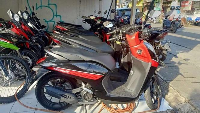 Skuter matik Honda Genio mulai beredar di showroom motor bekas