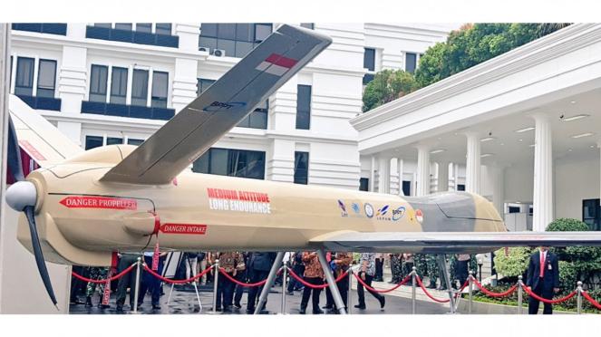 Drone Elang Hitam diperkuat ISTAR.