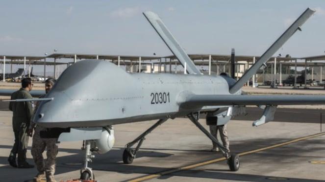 Drone CH-4 Rainbow buatan China.