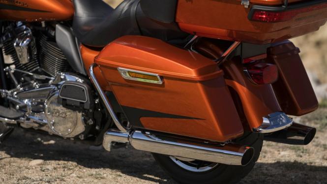 Ilustrasi motor Harley-Davidson