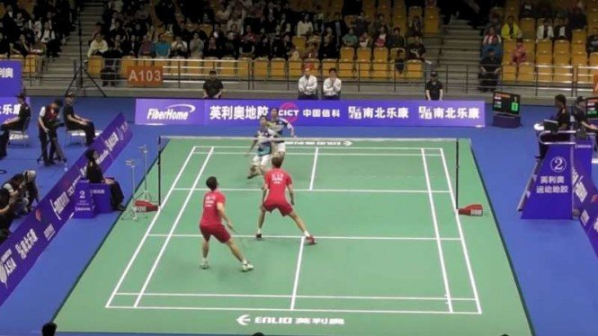Badminton Asia Championships 2019, Wuhan, China.