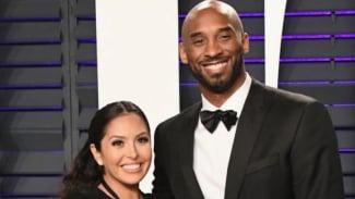 Kobe Bryant dan sang istri, Vanessa Bryant.