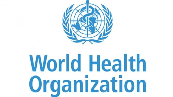 Logo WHO.