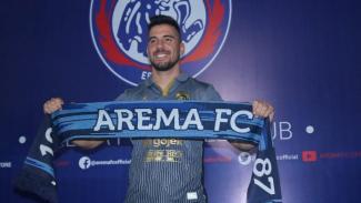 Striker anyar Arema FC, Jonathan Bauman
