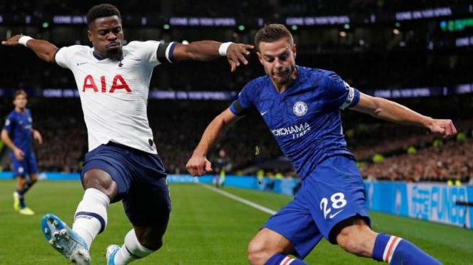 Laga Premier League 2019/2020 antara Tottenham Hotspur kontra Chelsea