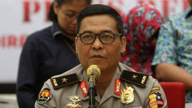 Kepala Divisi Hubungan Masyarakat Polri, Inspektur Jenderal Polisi Argo Yuwono.