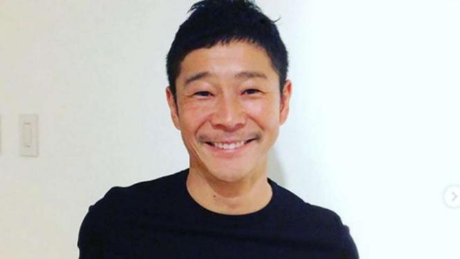 Yusaku Maezawa, miliuner Jepang yang gelar sayembara cari pacar untuk ke Bulan.