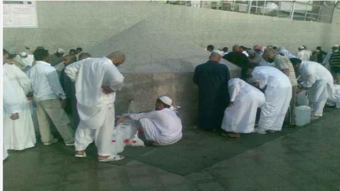 Sumber air zam-zam di Mekah