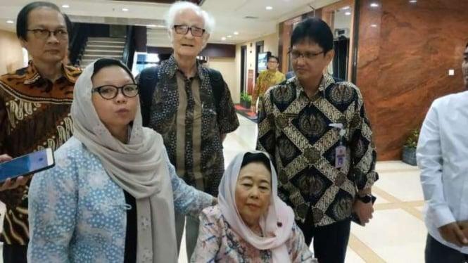 Putri mantan Presiden Abdurrahman Wahid, Alissa Wahid yang juga Koordinator Jaringan Gusdurian.