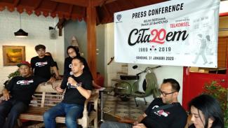 Press Conference Reuni SMAN 20 Bandung (30/01).