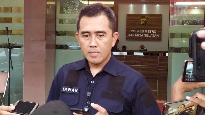 Kasat Reskrim Polres Jakarta Selatan, AKBP Mochammad Irwan Susanto.