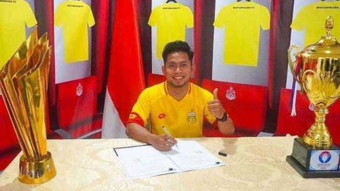 Winger Bhayangkara FC, Andik Vermansah