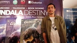 Abimana Tegaskan Komik Gundala Berbeda dengan Film