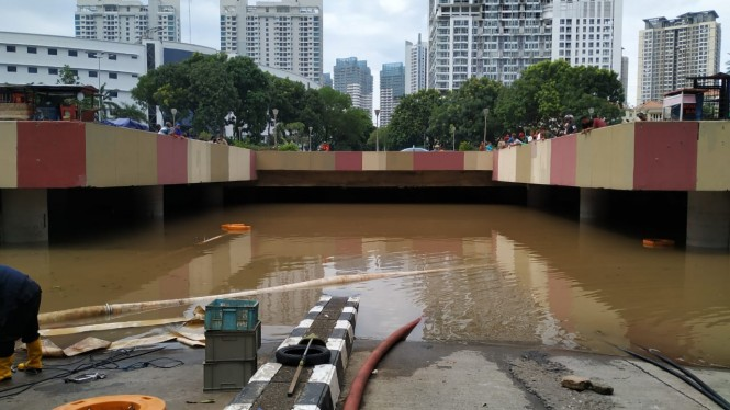 Banjir di Underpass Kemayoran, Jakarta