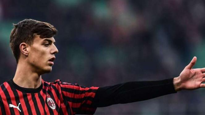 Penyerang muda AC Milan, Daniel Maldini
