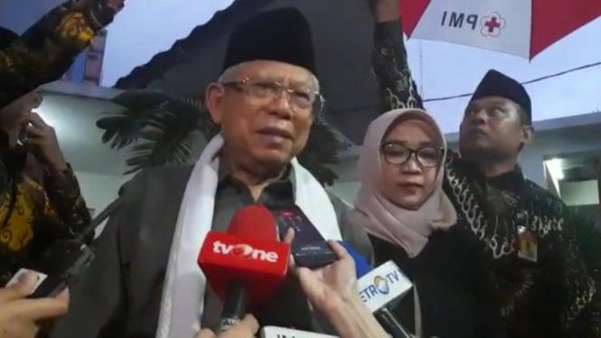 Wakil Presiden KH Maruf Amin