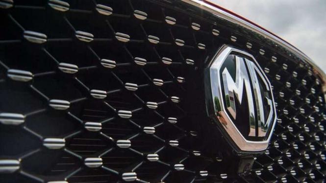 Ilustrasi logo Morris Garage atau MG