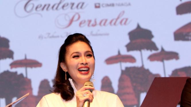 """Sandra Dewi Siap Meriahkan """"65 Tahun Melayani Indonesia"""""""
