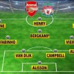 Formasi XI The Invincibles Arsenal & Liverpool