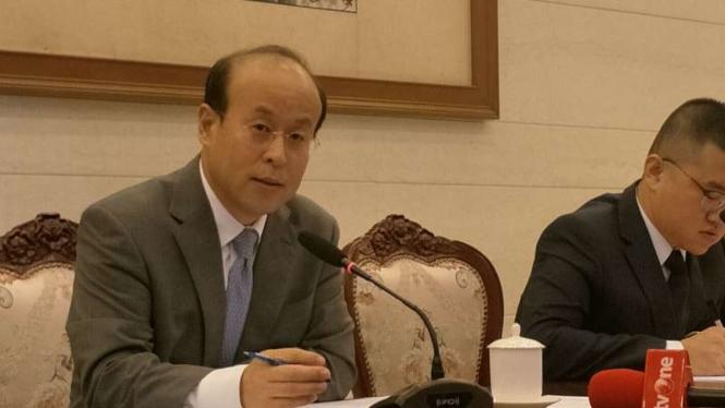 Dubes China untuk Indonesia, Xiao Qian (kiri)