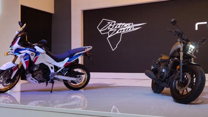 Peluncuran dua motor baru Honda di Jakarta