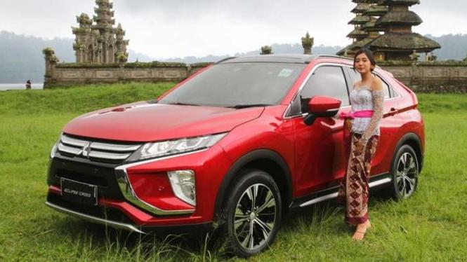 Mitsubishi Eclipse Cross dijajal sampai ke Pulau Bali